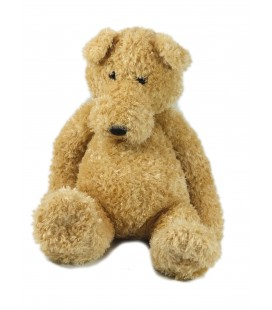 Peluche Doudou Ours beige 38 cm Gipsy