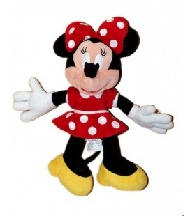 Doudou peluche Minnie Authentique Disneyland Resort Paris 32 cm