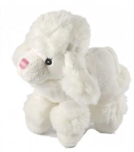 Doudou peluche Chien Caniche blanc Gipsy 20 cm