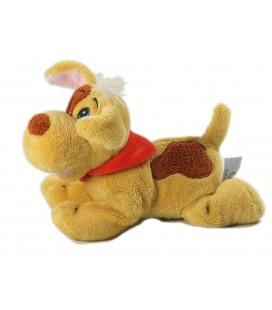 Doudou peluche chien beige 17 cm Gipsy