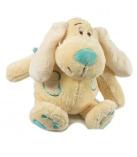 Doudou peluche chien beige bleu Anna Club Plush 25 cm