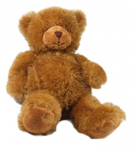 Doudou peluche ours marron Anna Club Plush 40 cm