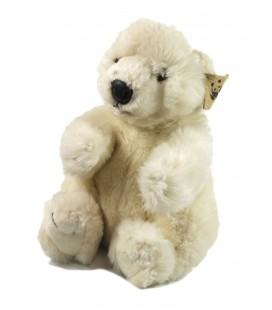 Doudou peluche ours blanc WWF Anna Club Plush 28 cm