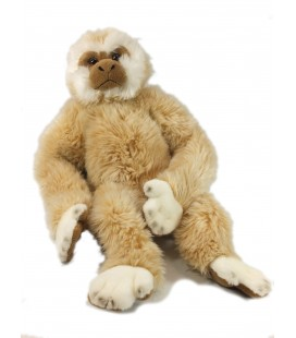 Doudou grande peluche Singe beige Playkids CMI 50 cm