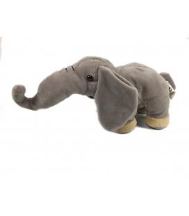 Doudou peluche elephant gris 30 cm Playkids CMI