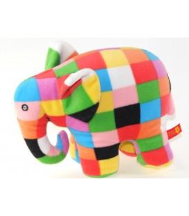 Peluche Elephant Elmer Petit Jour 20 cm 2002 David Mc Kee
