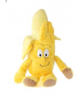Peluche Doudou Banane jaune Goodness Gang 35 cm