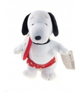Peluche doudou Snoopy Peanuts Bouée 28 cm Play by play - Rare et collector