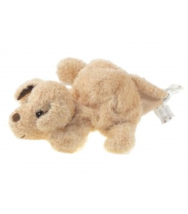 Peluche doudou marionnette chien beige IKEA Hundtass