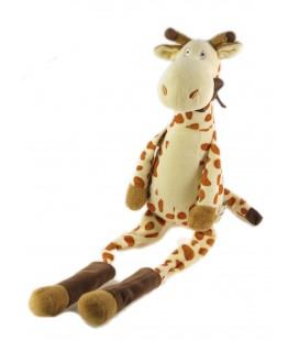 Peluche doudou Girafe 25 cm assis, 45 cm au total Les Petites Marie Raynaud