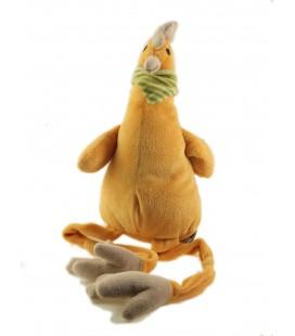 Peluche doudou poule orange 25 cm assis, 50 cm au total Les Petites Marie Raynaud