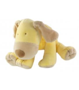 Doudou Peluche chien jaune 26 cm Obaibi