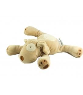 Doudou chien beige 16 cm Obaibi