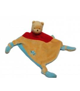 Disney Baby Nicotoy Doudou plat Winnie Fleur 3 noeuds 587/8088