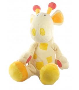 Babysun Doudou Girafe jaune Grelot Assis 28 cm