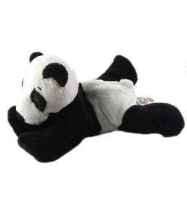 Doudou peluche Panda allongé Nature Planet 22 cm