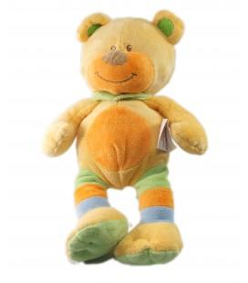 Doudou ours orange 26 cm Bengy
