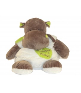 Baby Nat - Range pyjama Hippopotame Bazile Hippo Ma cachette à Pyjama