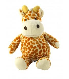 Doudou Girafe marron roux 28 cm Baby Nat