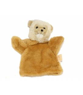 Doudou Marionnette Singe Ours chien beige Histoire d'ours Cedeji