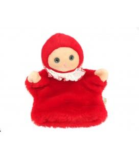 Histoire d'ours Ellipse - Doudou marionnette Fille petit chaperon rouge