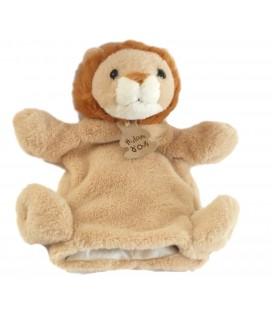Histoire d'Ours Doudou Marionnette Lion beige Mod. sans poche