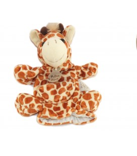 Histoire d'Ours Doudou Marionnette Girafe marron