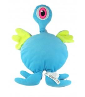 Doudou peluche Coussin Alien Martien bleu Extraterrestre Blimp Figur IKEA 52 cm