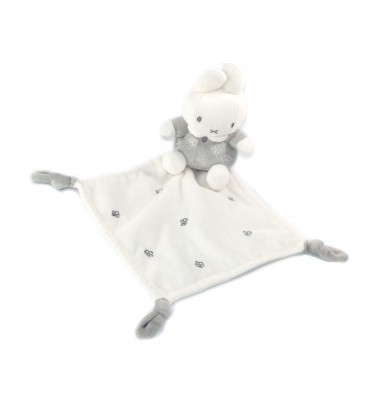 Doudou lapin panpan mouchoir blanc rose arc en ciel cœurs Disney Simba neuf