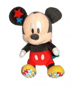 Doudou peluche musicale Mickey 25 cm étoiles Disney Simba