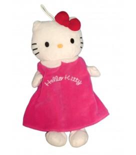 Peluche doudou *Vendu sans bouillotte* Hello Kitty 40 cm Sanrio Jemini Sanodiane