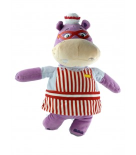 HALLIE peluche hippopotame Docteur la Peluche 32 cm Disney Nicotoy