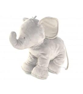 Peluche doudou Ferdinand l'éléphant gris 35 cm Tartine et Chocolat