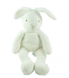 Doudou lapin blanc 26 cm Jacadi