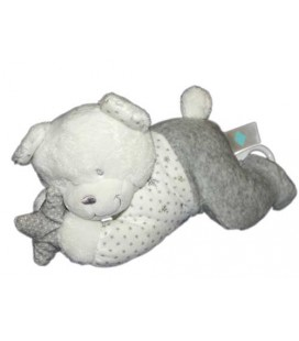 tex-baby-carrefour-peluche-musicale-doudou-ours-blanc-gris-etoiles