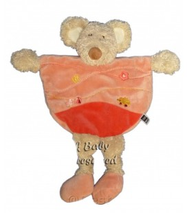 Doudou plat souris rose TEX Baby Fleur Canard Ballon Herisson