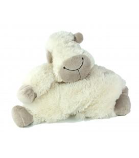 Doudou peluche Jellycat Mouton coussin blanc 40 cm
