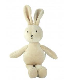 Doudou peluche lapin beige 34 cm oreilles levées Jellycat