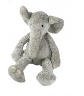 Doudou peluche éléphant gris 36cm Jellycat