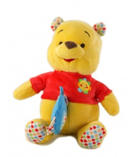 Disney Baby Nicotoy Peluche Musicale Winnie Good Morning Oiseau bleu 22 cm