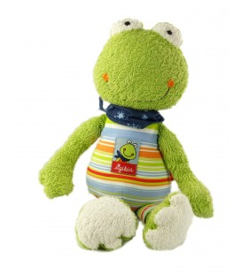 Doudou peluche grenouille Sigikid Fortis Frog 35 cm