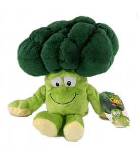 Peluche Doudou Brocolis vert Goodness Gang 30 cm