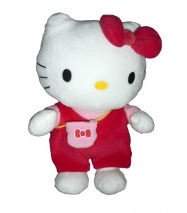 Peluche doudou Hello Kitty Sac à main 25 cm Sanrio