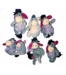 Lot de 5 petites peluches doudous Bourriquet 15 cmDisney Nicotoy