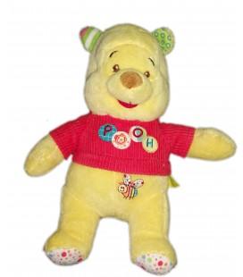 Peluche doudou Winnie Pooh Disney Baby Abeille 24 cm Nicotoy 587/9454