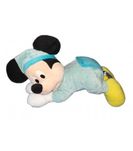 Peluche doudou Mickey Lumineux Luminescent Nicotoy 587/8962