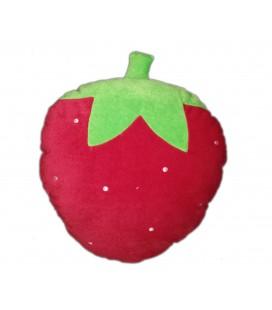Coussin doudou peluche fraise 32 cm Ikea ?