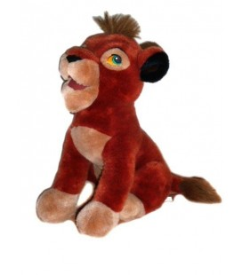 Grande peluche doudou KOVU - Le roi Lion - 40 cm - Authentique Disney