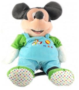 Doudou peluche range pyjama Mickey Cubes ABC Disney Nicotoy 587/2482