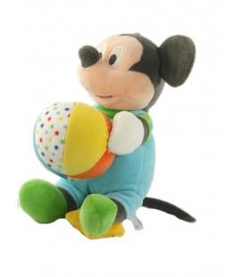 Doudou peluche musicale Mickey ballon 26 cm Disney Nicotoy 587/3060